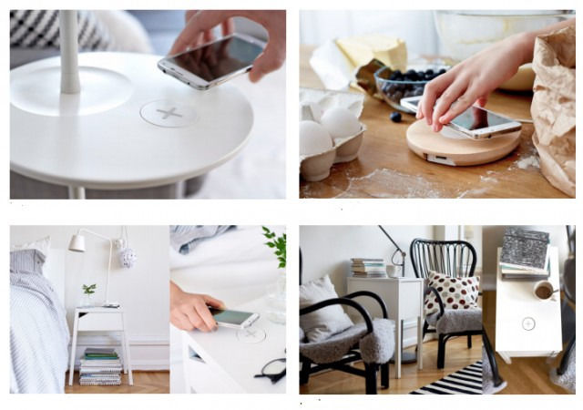 Phone-Charging Furniture