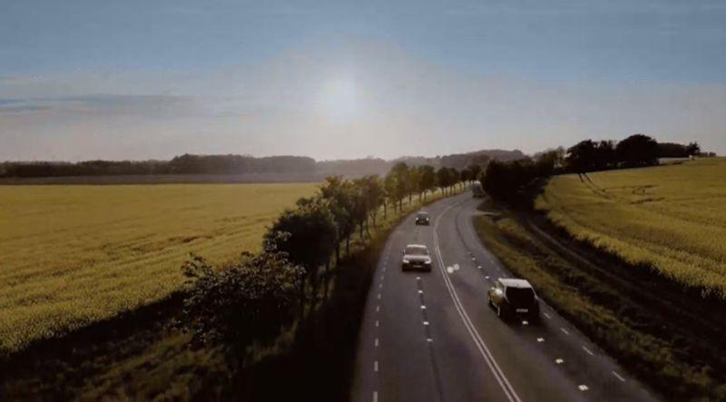 Electric Car-Friendly Charging Roads