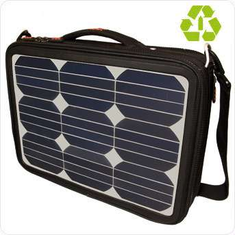 Solar Powered Messenger Bags