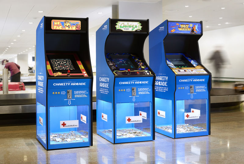 gaming machines red penguin