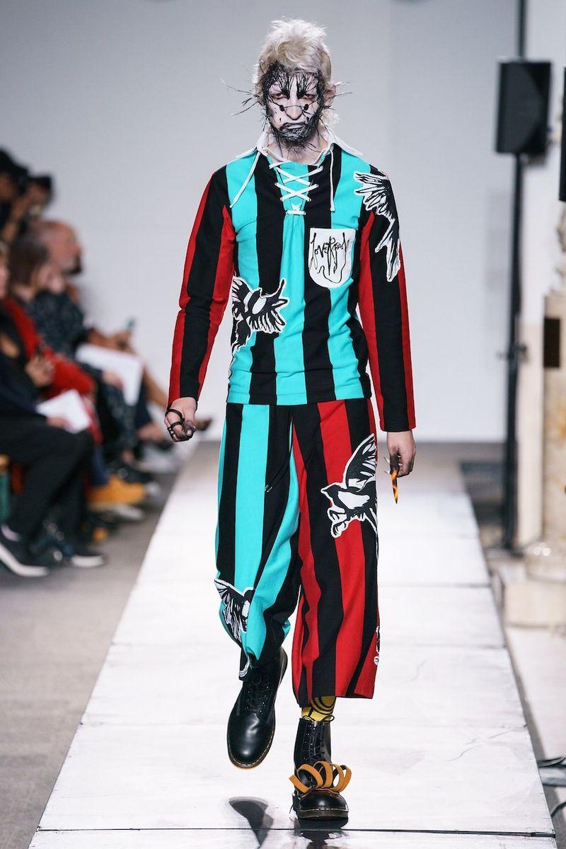 Punk-Themed Experimental Fashion