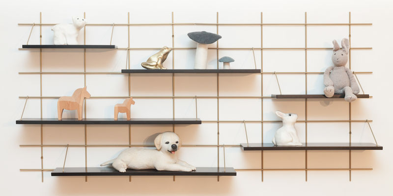 Modular Wall-Mounted Shelving