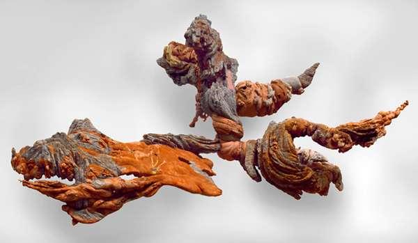 Organic Clay Sculptures