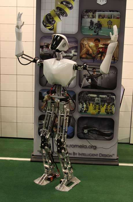 Competitive Humanoid Robots