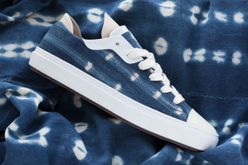 Mud Cloth-Crafted Sneakers