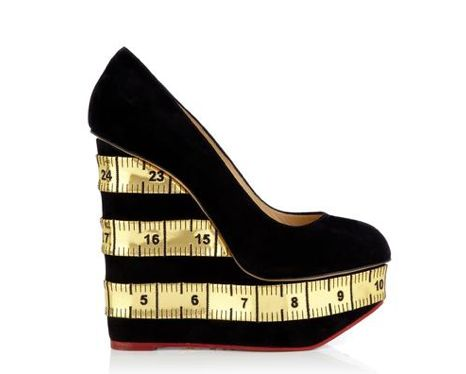 Measuring Tape-Printed Wedges