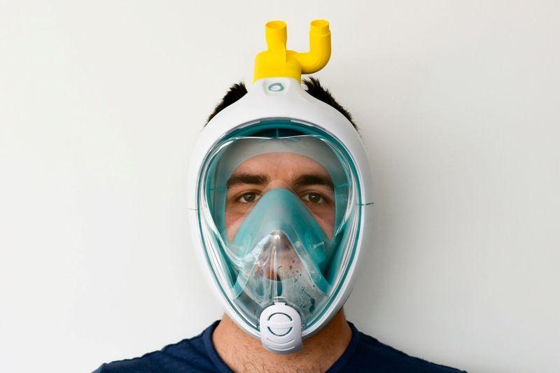 Scuba Mask Ventilator Hacks
