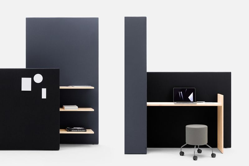 Multifunctional Workplace Dividers