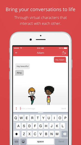 Animated Messaging Apps