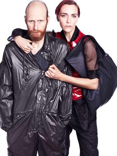 Grunge Garbage Bag Garb