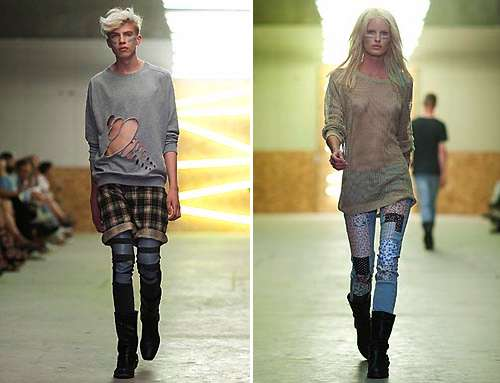 Hipster Grunge Fashion The Cheap Monday Aw10 Collection