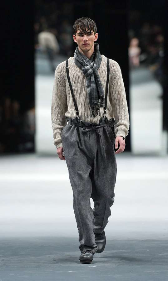 Superb Suspender-Clad Looks