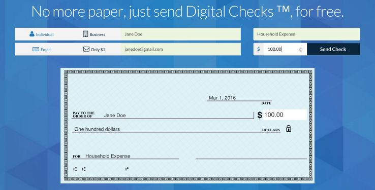 Digital Check-Depositing Apps