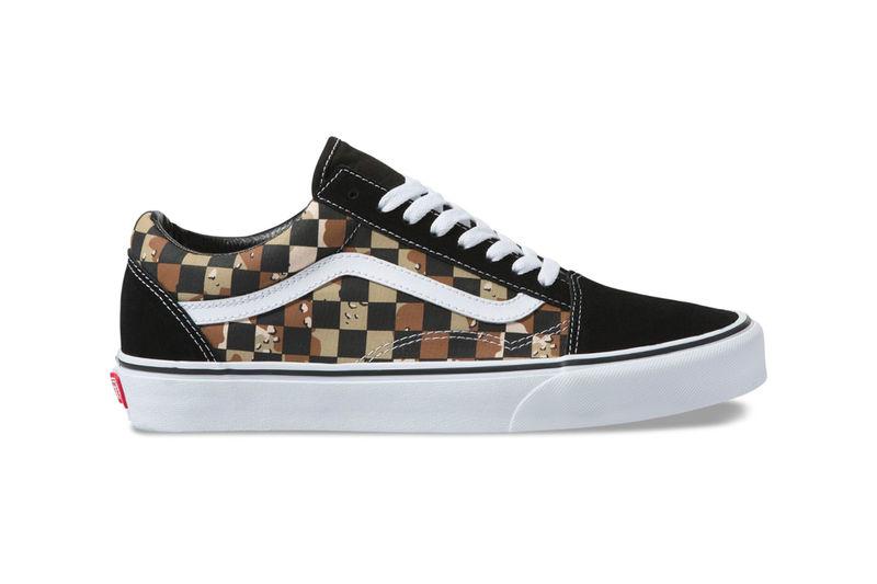 Desert Camouflage Shoe Designs