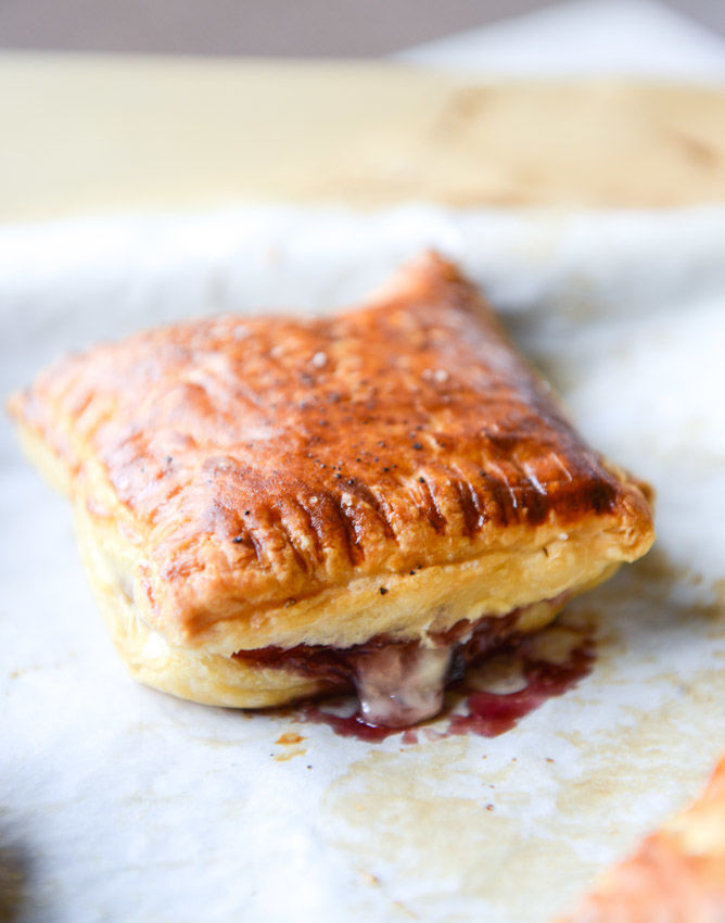 Cheesy Cherry Pastries