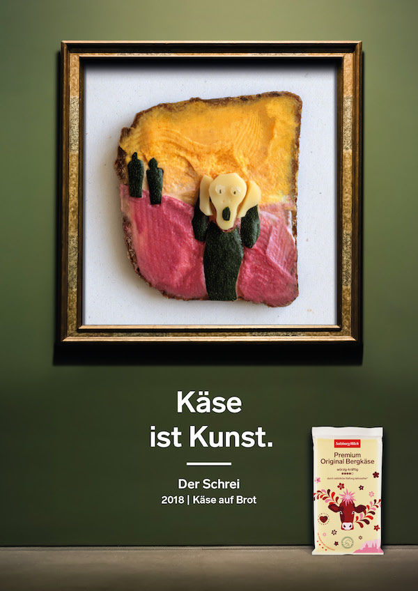 Artful Cheese Ad Campaigns