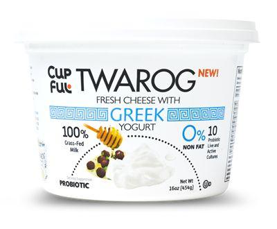 Cheese-Filled Yogurt Cups