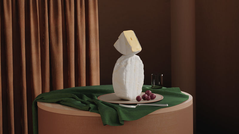 Texture-Amplifying Cheese Campaigns