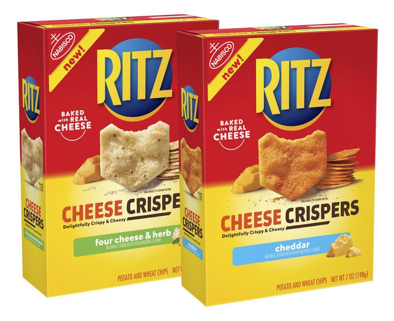 Ultra-Thin Cheesy Crisps