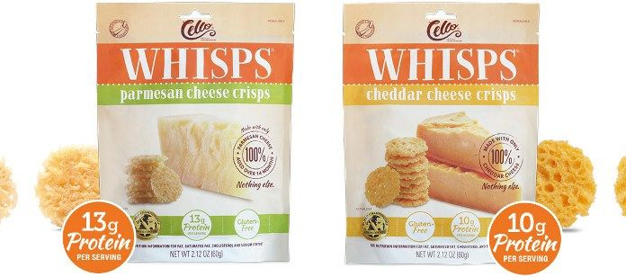 Crispy Low-Carb Cheese Snacks