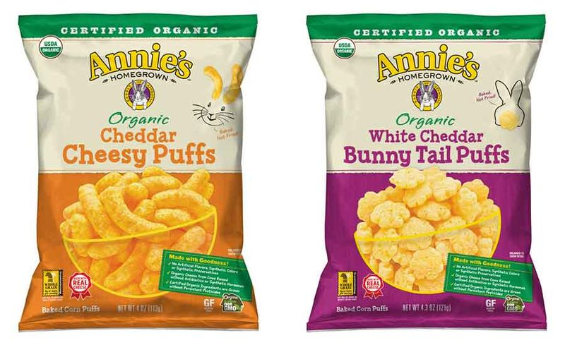 Free-From Cheese Puff Snacks