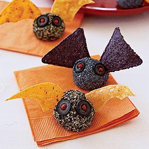 Crunchy Bat Cheese Balls