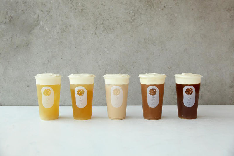 Sweet-Tart Cheese Teas