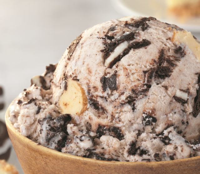 Cookie-Packed Dessert Ice Creams