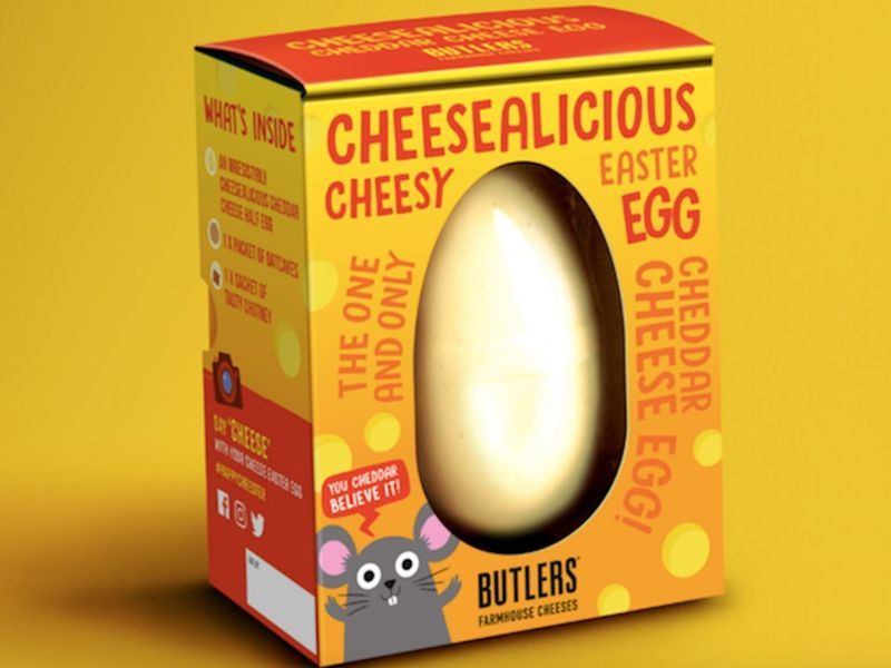 Easter Cheddar Cheese Eggs