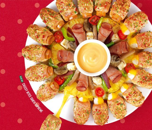 Shareable Festive Pizzas