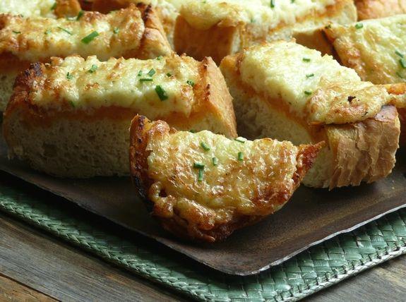 Cheesy Kimchi Breads