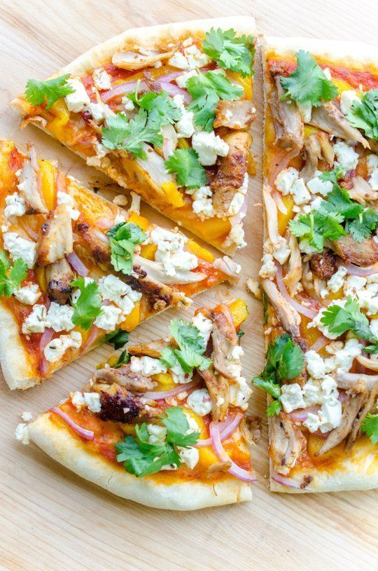 Tandoori Chicken Pizzas
