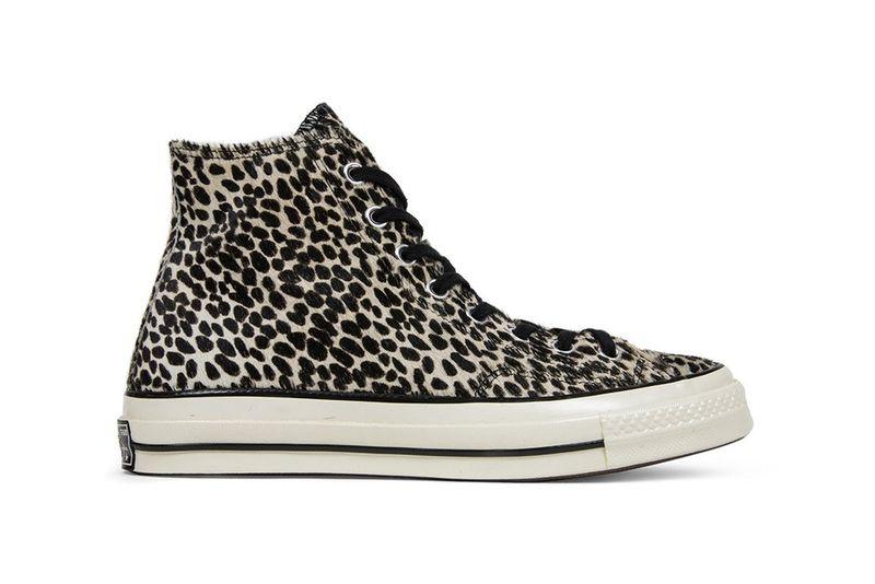 Simplistic Cheetah-Print Sneakers