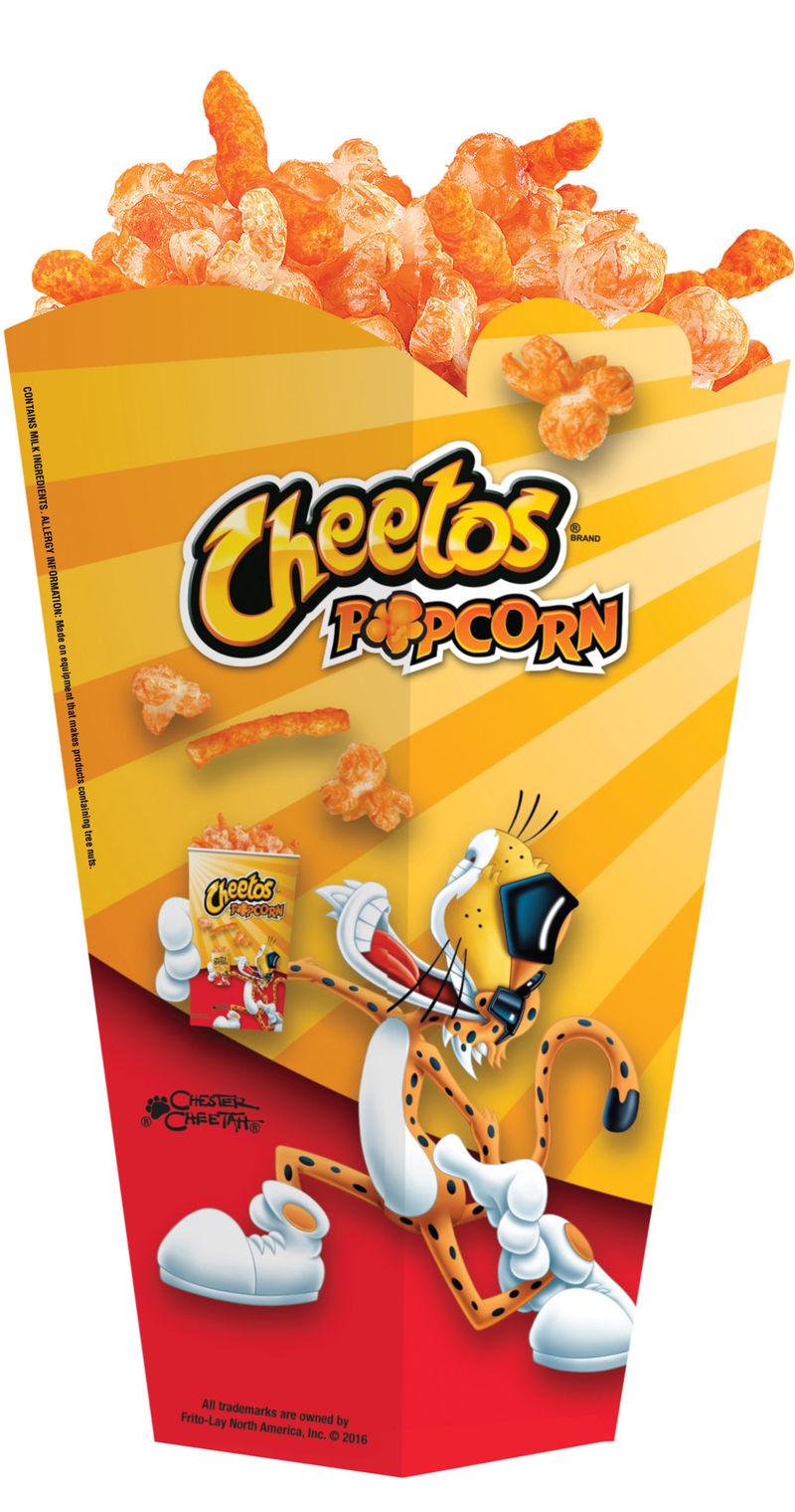 Ultra-Cheesy Popcorn Snacks