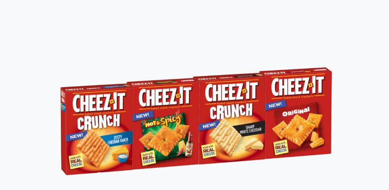 Decadent Baked Cracker Snacks