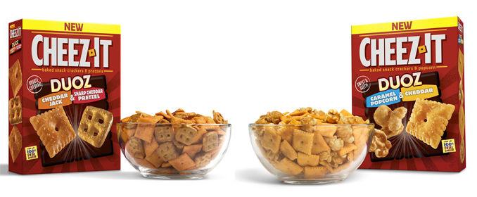 Flavor Combination Cracker Snacks