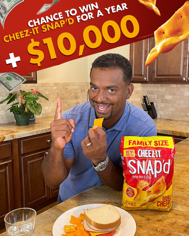 Comedian-Staring Snack Giveaways
