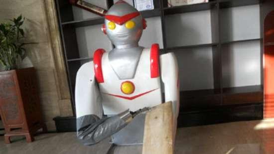 Noodle-Shaving Robots