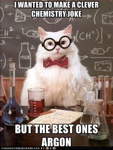 Keen Kitty Memes Chemistry Cat