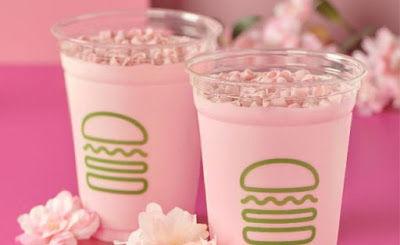 Rosy Cherry Blossom Shakes
