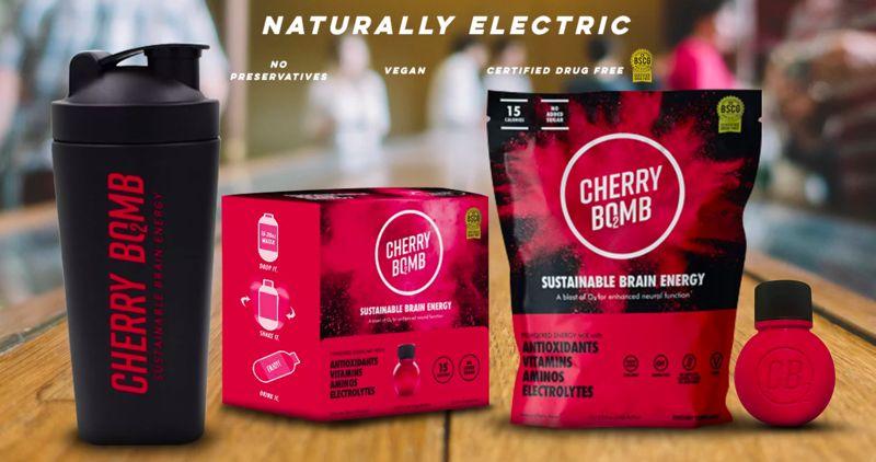 Brain-Boosting Cherry Shots