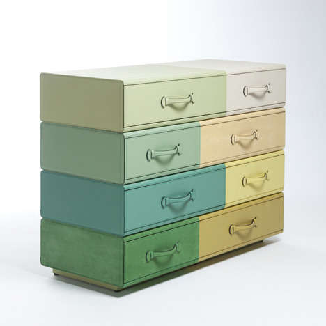 Suitcase-Shaped Drawers