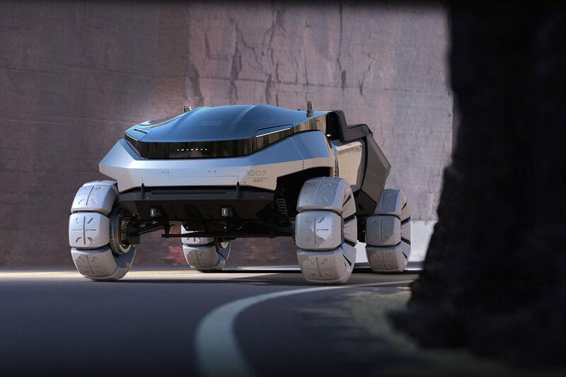 Post-Apocalyptic Reconnaissance Vehicles