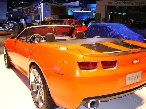 Chevy Camaro Evolution