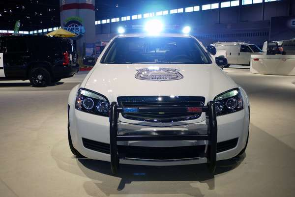 Souped-Up Cop Cars