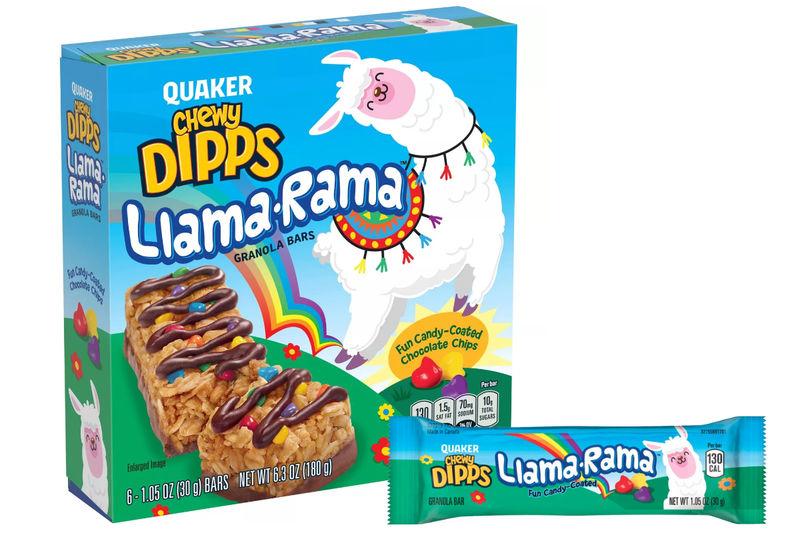 Llama-Branded Granola Bars