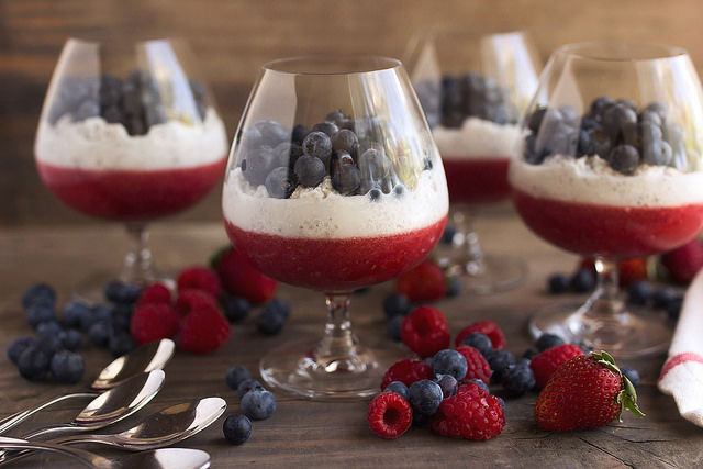 Superfood Patriot Parfaits