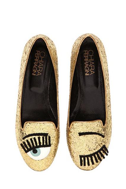 Winking Flirty Footwear