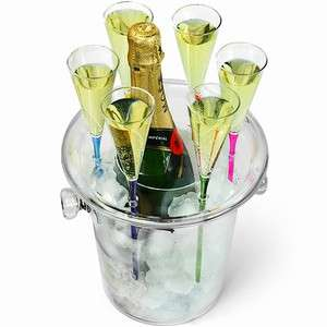 Chic Champagne Buckets