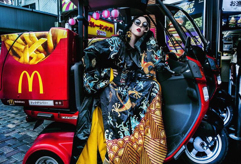 Chic Japanese Fashion Photography